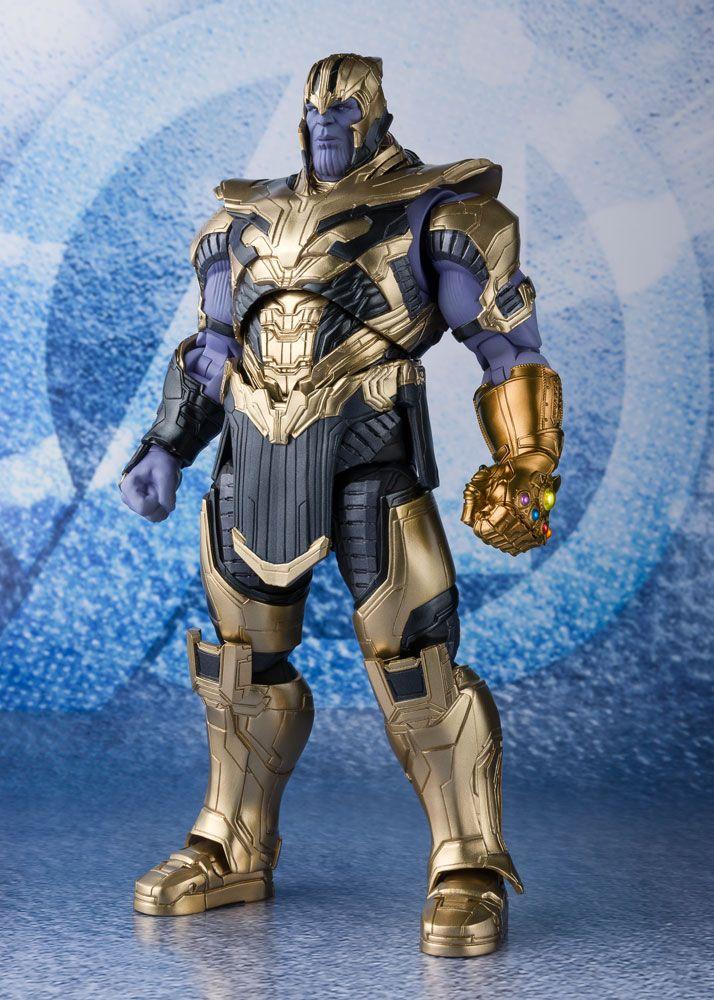 Thanos Avengers Endgame S.H. Figuarts Action Figure by Bandai