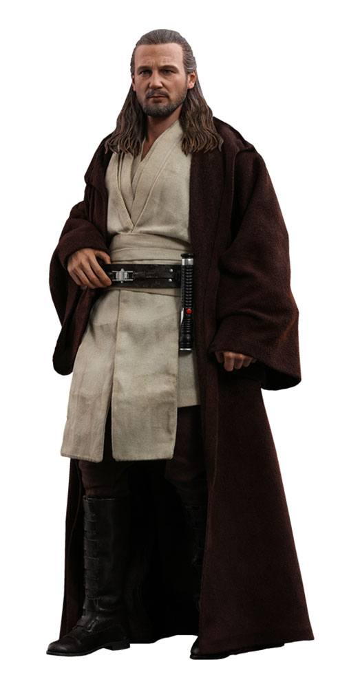 Qui-Gon Jinn Star Wars Episode I Movie Masterpiece 1/6 Action Figure by Hot Toys