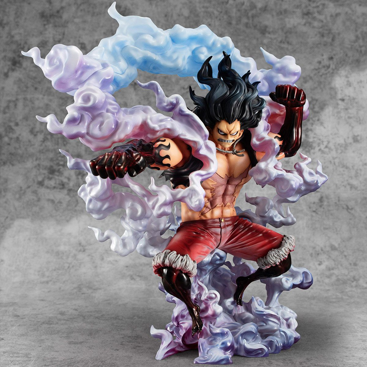 Sa Maximum Monkey D Luffy Gear 4 Snake Man One Piece Excellent Model P O P Pvc 1 8 Statue By Megahouse